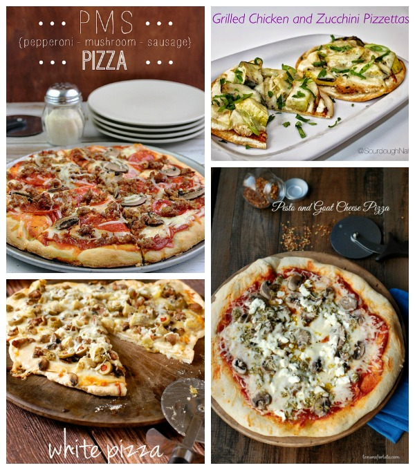 Pizza Features with SimplyGloria.com #ShowStopperSaturday
