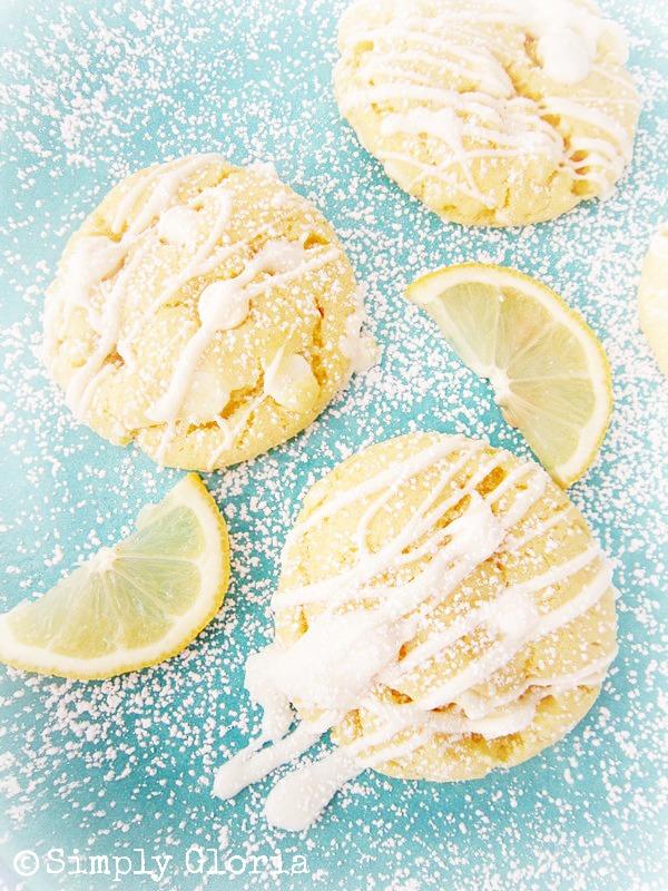 White Chocolate Lemon Cookies3