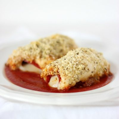 Mozzarella & Pepperoni Stuffed Chicken
