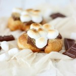 S'mores Fried Scones with SimplyGloria.com