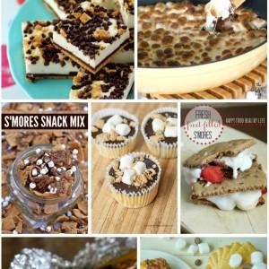 7 #Smores Recipes with SimplyGloria.com #ShowStopperSaturday