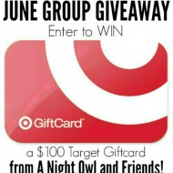 June $100 Target Gift Card Giveaway