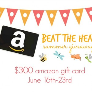 Beat The Heat this Summer and WIN a $300 Amazon #GiftCard!  #Giveaway