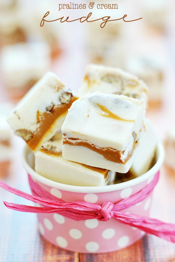 Pralines & Cream Fudge