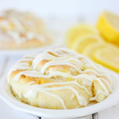 Sticky Lemon Sweet Rolls