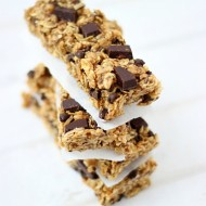 Chocolate Chunk Pumpkin Granola Bars