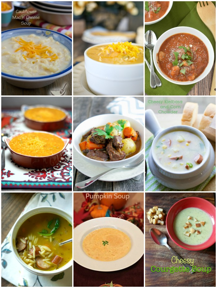 Soup Recipes with SimplyGloria.com and friends!  #ShowStopperSaturday