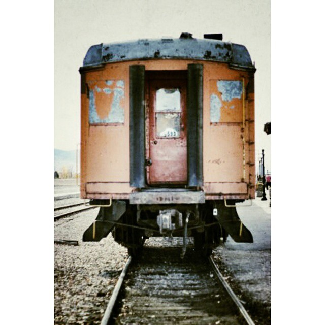 Taking a small trip on an old train... ------------------------- #HeberCreeper #train #Utah ?
