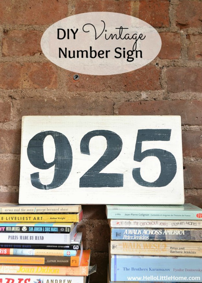 DIY-vintage-number-sign