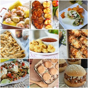 Mouth Watering Dinner Ideas with SimplyGloria.com and friends!  #dinner #supper