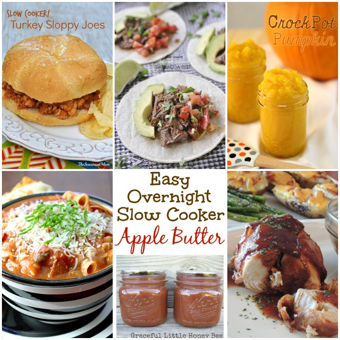 Slow Cooker Recipes with SimplyGloria.com and friends! #ShowStopperSaturday