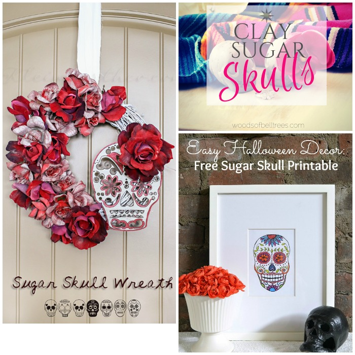 Sugar Skulls with SimplyGloria.com and friends! #ShowStopperSaturday