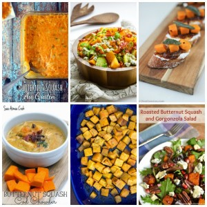 Butternut Squash Recipes with SimplyGloria.com and friends!