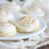 Eggnog Frosted Sugar Cookies