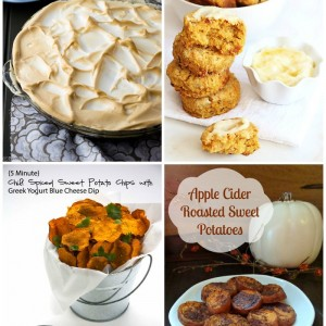 Sweet Potato Recipes with SimplyGloria.com and friends! #sweetpotato