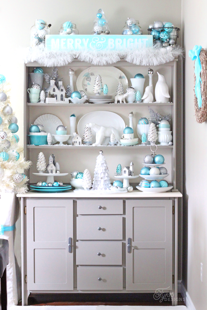 blue-silver-christmas-hutch