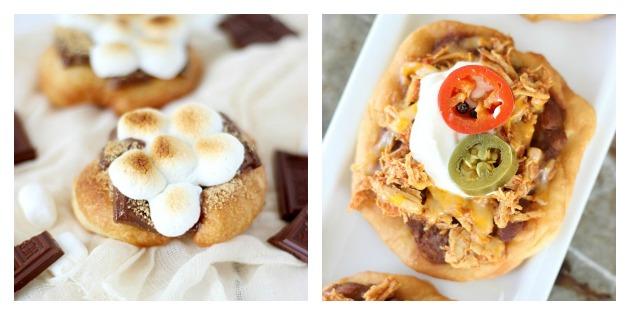 Fried Scones Recipes with SimplyGloria.com