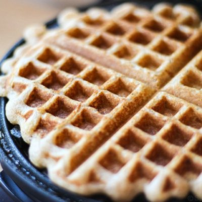 Vanilla Greek Yogurt Waffles