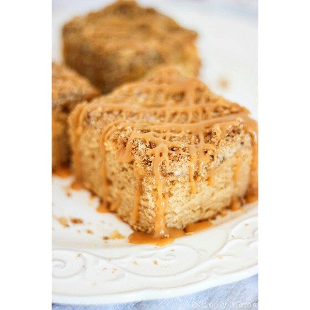 Attention peanut butter lovers. .. this one's for YOU!  #LinkInProfile #PeanutButter #CoffeeCake