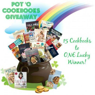 Pot 'O Cookbooks GIVEAWAY