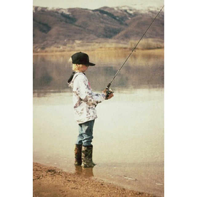 A day of winter fishing and sunshine. .. ?? #lovelife #livinginthecountry #gofish #bogs #explore #utahgram #instalove