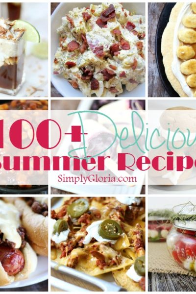 100+ Delicious Summer Recipes