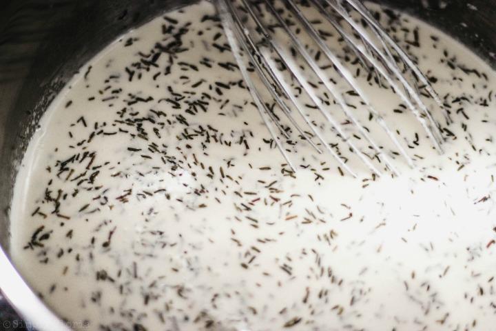 Easy Creamy Clam Chowder with SimplyGloria.com #soup viii