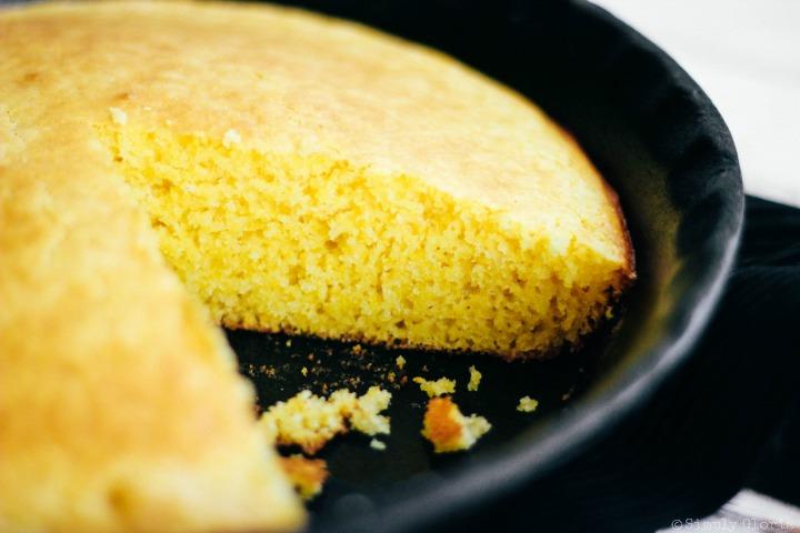 Moist and simply delicious Golden #cornbread!
